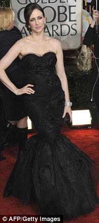 Vera Farmiga arrives for the 67th Golden Globe Awards