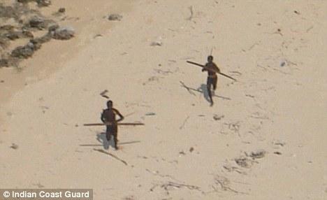 Sentinelese tribesmen