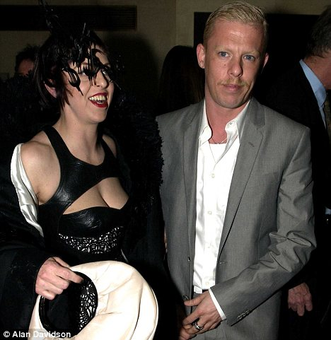 Alexander McQueen with Isabella Blow in 2003