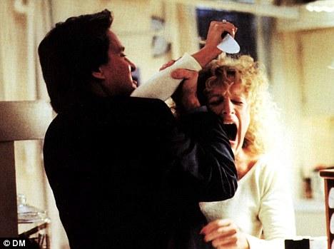 Fatal Attraction stars Glenn Close and Michael Douglas ...