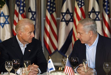 Joe Biden and Benjamin Netanyahu
