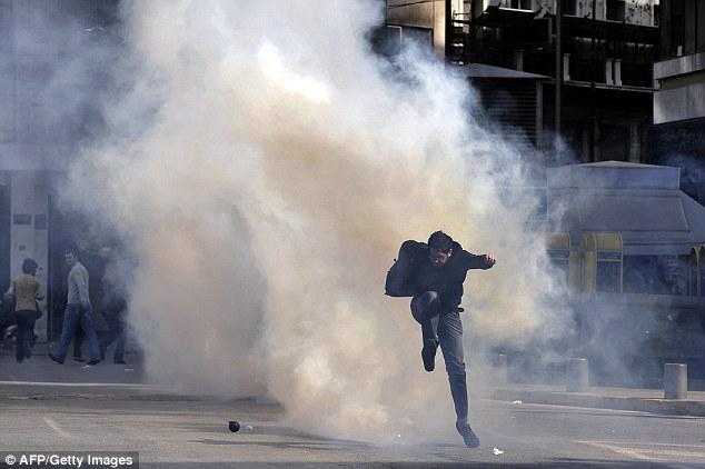 Greek riots