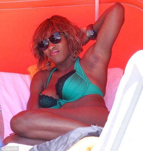 Willingly accept. serena bikini beach world