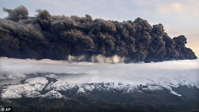 Nuvem vulcânica . Volcanic Ash