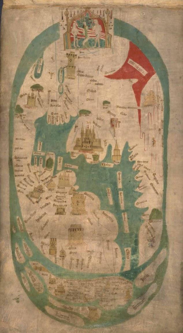 Evesham World Map