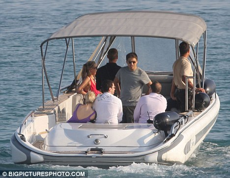 Another Osborne Enjoys Another Tycoons Yacht The
