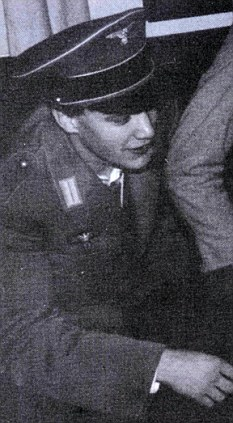 Student days: Mr Balls at a university party in 1986, dressed in a  Nazi uniform