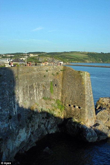 Deadly jump: Dead Man's Cove is a notorious tombstoning point in  Plymouth
