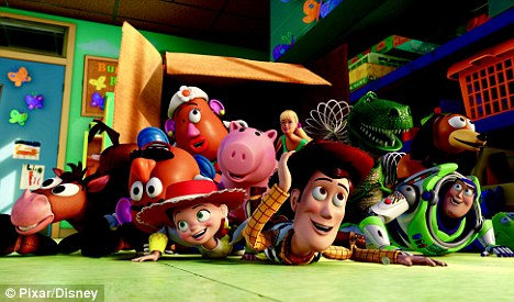 The toys are back in town: All the gang - including Woody, Buzz Lightyear and Mr Potato Head, return for the third instalment in the Toy Story franchise, released on July 19