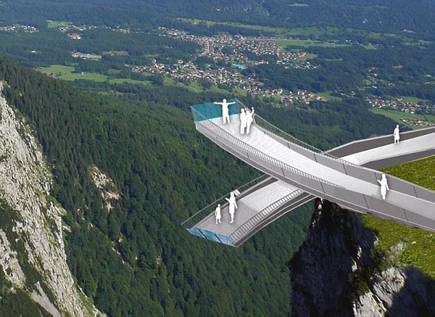 alpine viewing platform