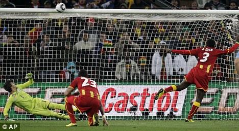 Image result for uruguay vs ghana 2010