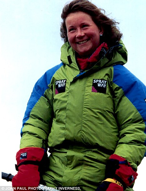 Adventurer: Alison Hargreaves was an avid mountain climber and hoped that summiting K2 might have brought her a better future