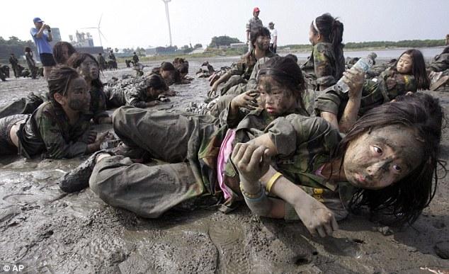 South Korea children training