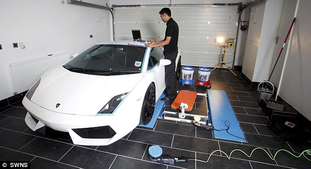 Britains Most Expensive Car Wash Takes A Month And