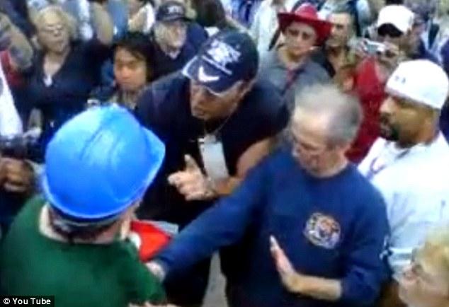 Ground Zero confrontation