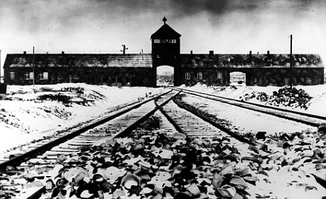 The Auschwitz-Birkenau camp where Hitler's Jewish extermination  programme was carried out