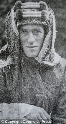 Lt Col TE Lawrence, immortalised as Lawrence of Arabia