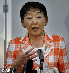 Justice Minister Keiko Chiba announced a review of the death  penalty in July