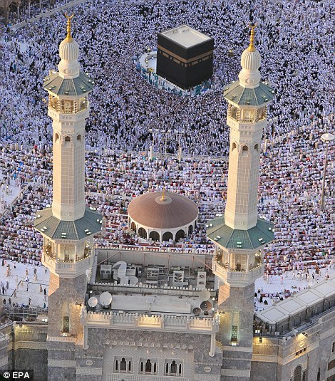 Sacred: The Kaaba predates Islam and is one of the most holy sites  in the religion