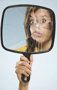 Seven years: Almost half of people polled in a survey on luck expect to receive bad luck if they break a mirror