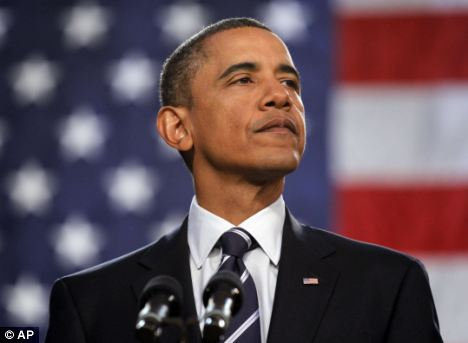 President Barack Obama delivers remarks on the economy earlier this month