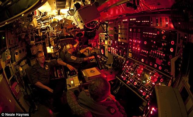 HMS Talent's Ship Control