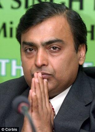Mukesh Ambani India's richest man builds home valued at £ ...