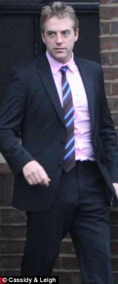 Attack: Donal MacIntyre leaves court
