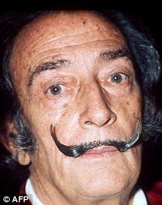 Salvador Dali Moustache Voted Best Of All Time Daily