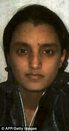 Roshonara Choudhry, who was jailed for life for the attempted murder of Stephen Timms