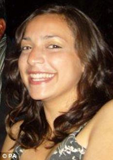 Victim: English student Meredith Kercher, who was murdered by American Amanda Knox and her italian boyfriend Raffaele Sollecito