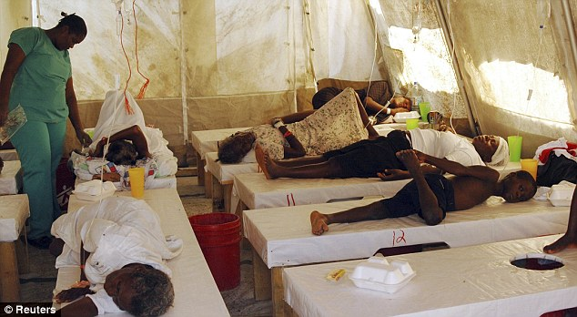 Charity Medecins Sans Frontieres have said that they have treated over 16,500 people for cholera at their clinics