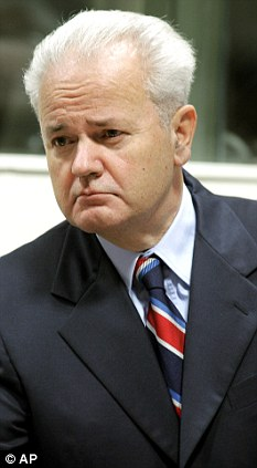 Ignored: Serbian President Slobodan Milosevic tried to broker a deal with Blair and Bill Clinton - but it was made unacceptably draconian because the leaders preferred a war