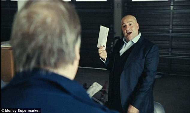 Out of office: Advert star Omis Djalili taunts Prescott saying 'Their deal is a real vote winner - like you used to be?