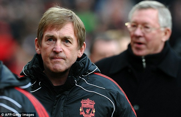 Bad start: Sir Alex Ferguson had the last laugh as Kenny Dalglish suffered a disastrous return to the Liverpool hot seat