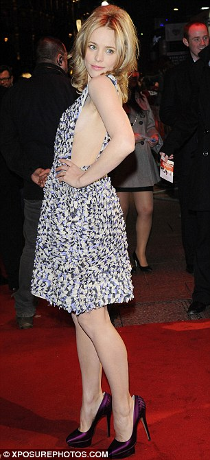 Harrison Ford And Rachel McAdams In Barely There Dress At