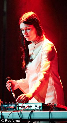 Trish Keenan at ATP, via the Daily Mail