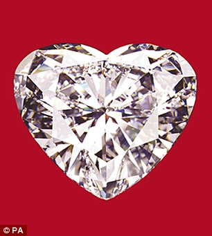 Valentines Day 56 Carat Heart Shaped Diamond To Go On