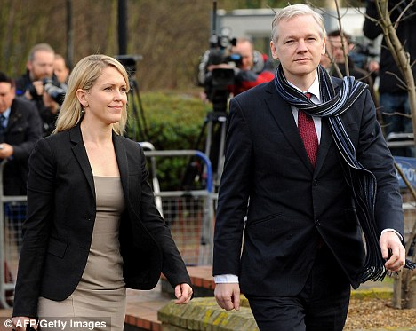 WikiLeaks' Julian Assange extradited to Sweden to face ...
