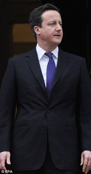 David Cameron has had to backtrack on plans for Libya