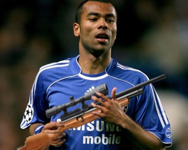 Ashley Cole Air Rifle