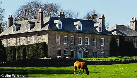Beautiful B&B: With running costs of £40,000 a year to meet, the Le Grices have had to turn their home into a hotel