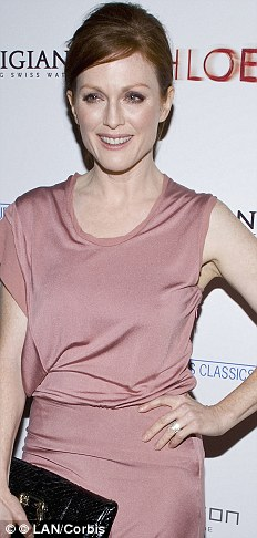 New job: Julianne Moore has signed to play Sarah Palin in an HBO TV adaptation of Game Change