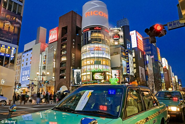Bustling: The busy Japanese capital Tokyo has 13million people living in its centre - and it could be hit by another earthquake very soon