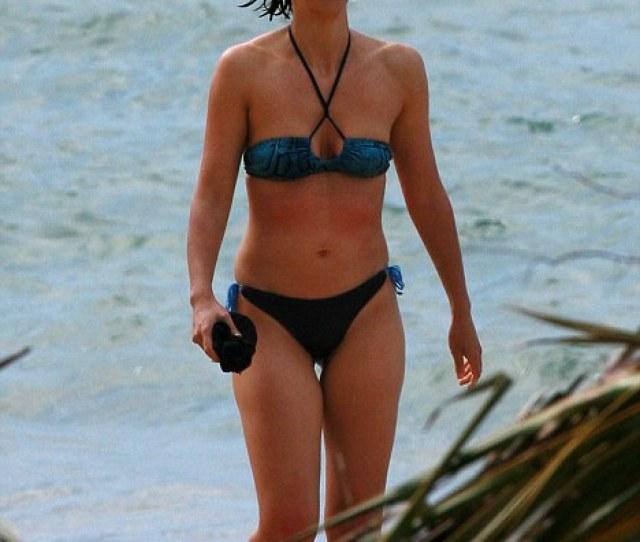 Looking Trim Maggie Gyllenhaal Showed Off An Impressive Bikini Body In Her Tiny Two