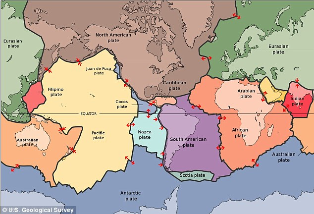 Movements of the earth: Tectonic plate movement could be sped up as a result of the weather