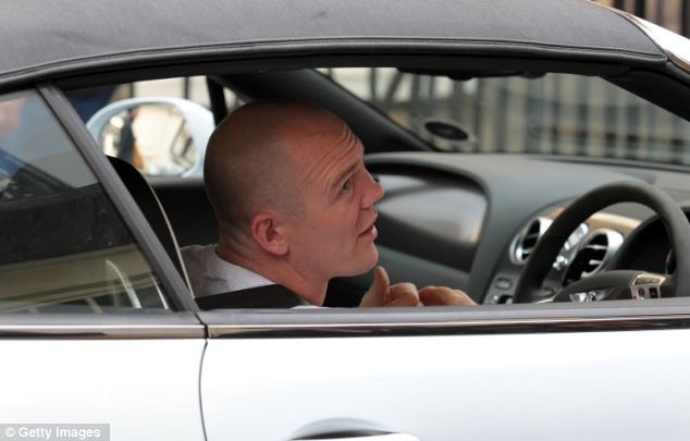 Mike Tindall, who is due to marry Zara Phillips in July, arrives at Clarence House