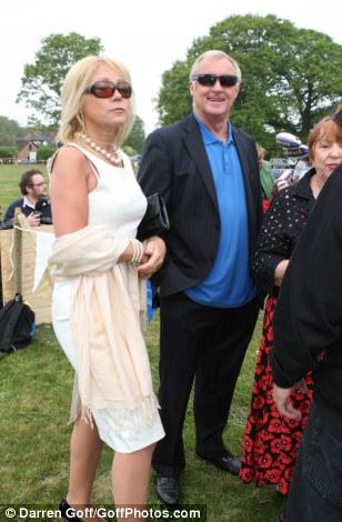 Chris Tarrant joins in the festivities in Kate's hometown
