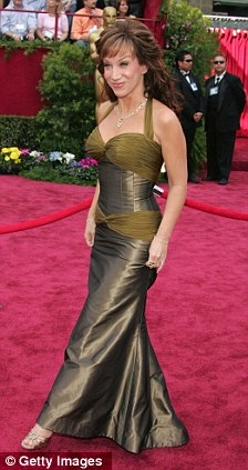 Actress/Comedian Kathy Griffin arrives at the 77th Annual Academy Awards