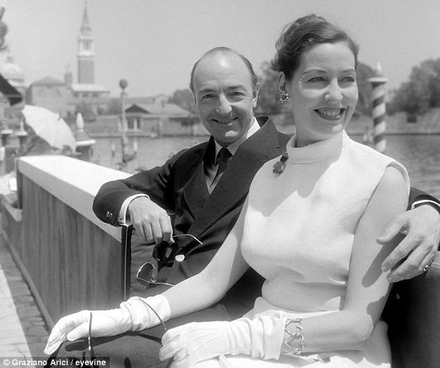 Sixties scandal: Hollis learnt of the affair between John Profumo - pictured with his wife Valerie - and Christina Keeler many months before it became public - yet he chose not to warn ministers